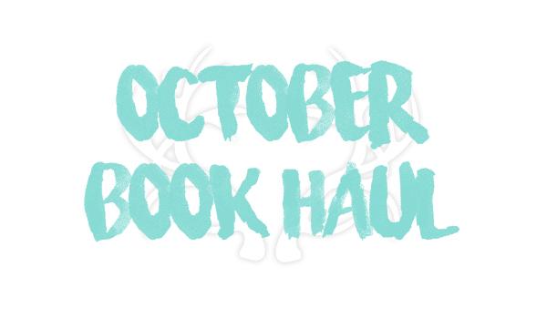 OctoberBookHaul
