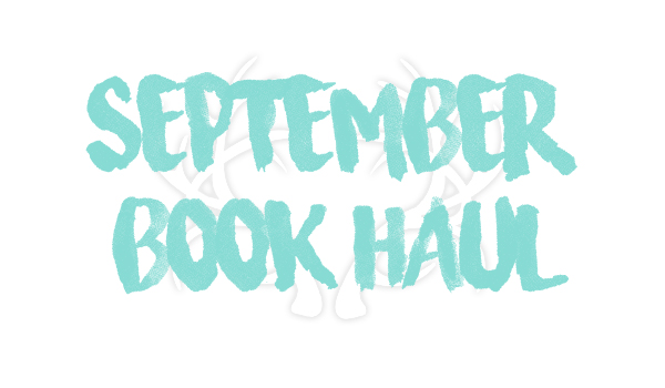 SeptemberBookHaul